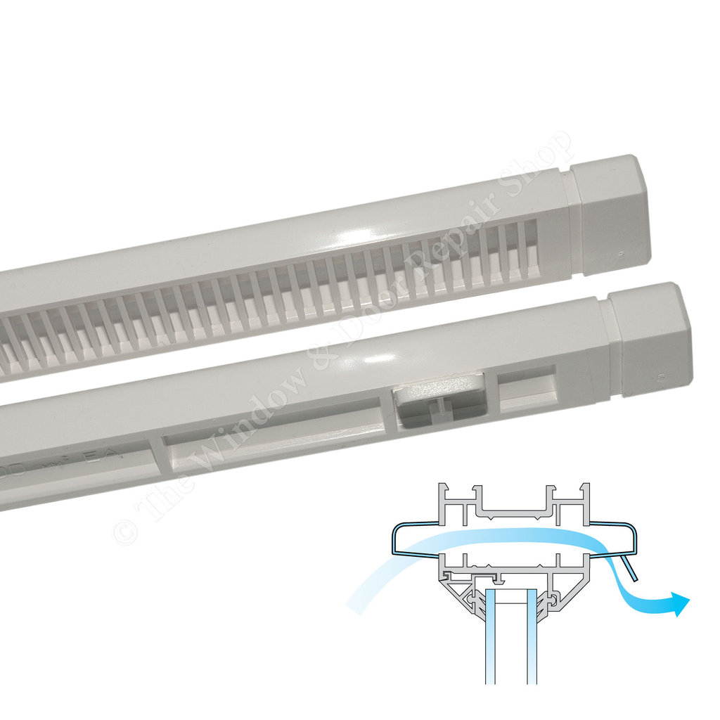 Greenwood Trickle Slot Night Vent 4000l Or 2000l For Upvc