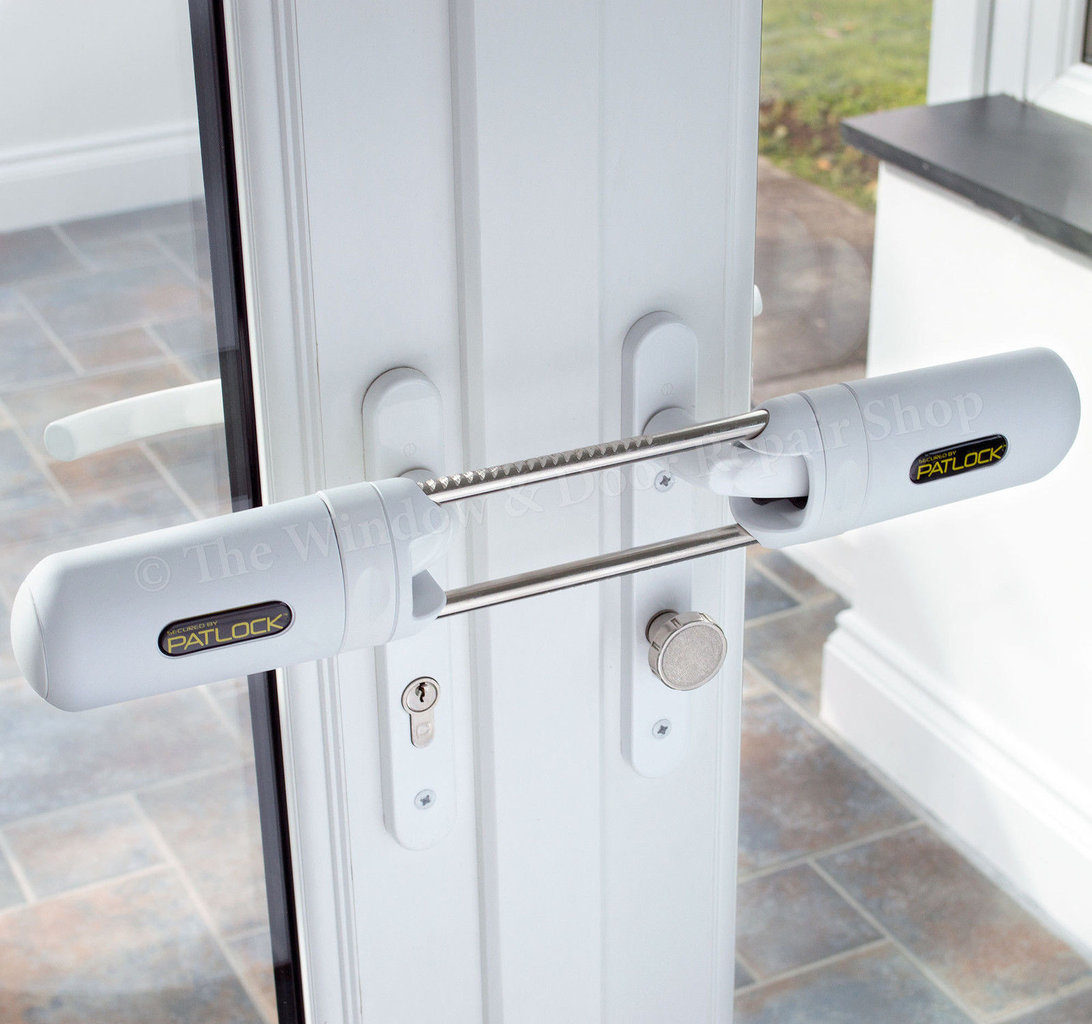 Patlock high security double french door lock the window for Upvc french door locks